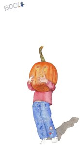 pumpkin-and-boo